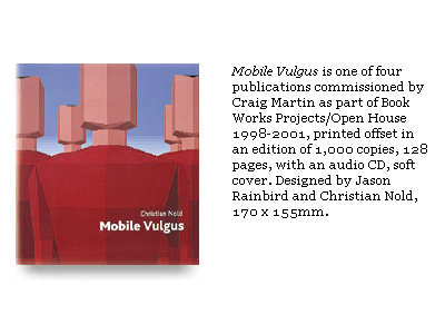 Mobile Vulgus Book - Christian Nold